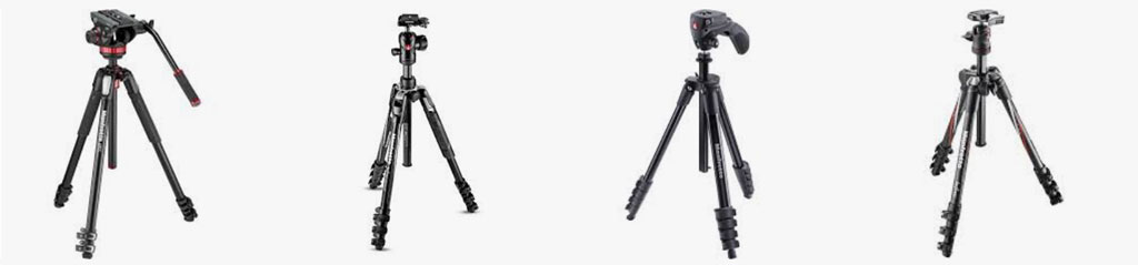 Various tripod types