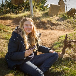 Zoe and her mum Anna enjoyed a half-day photography tour in historic Richmond Tasmania