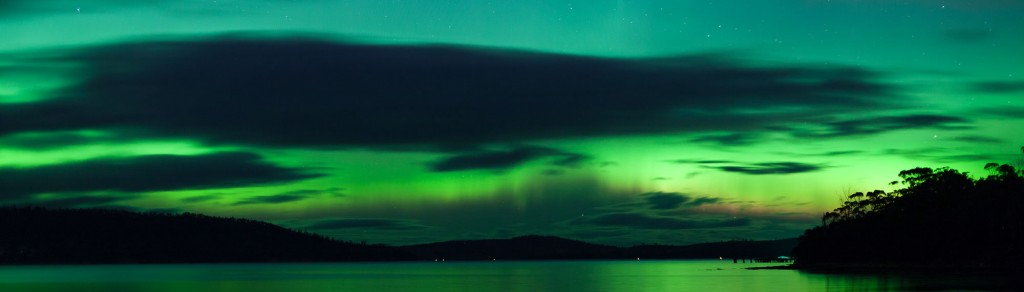 Aurora Australis in Tasmania - Night Sky Photo shoot with Shutterbug Walkabouts