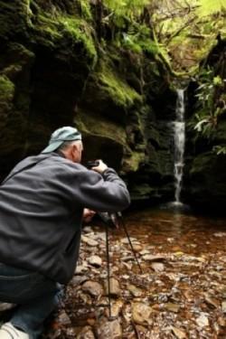 David W on the Hobart Twilight Photography Tour Shutterbug Walkabouts