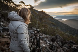 Twilight Photography on Mt Wellington