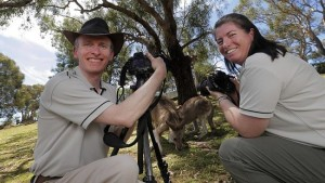 Couple prove true viewfinders