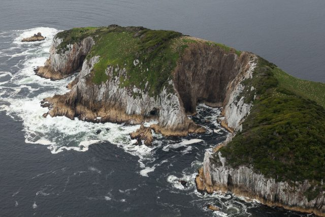 Shutterbug Walkabouts Wilderness Photography Escape - Birdseye views of Tasmania's rugged coastline during the scenic flight