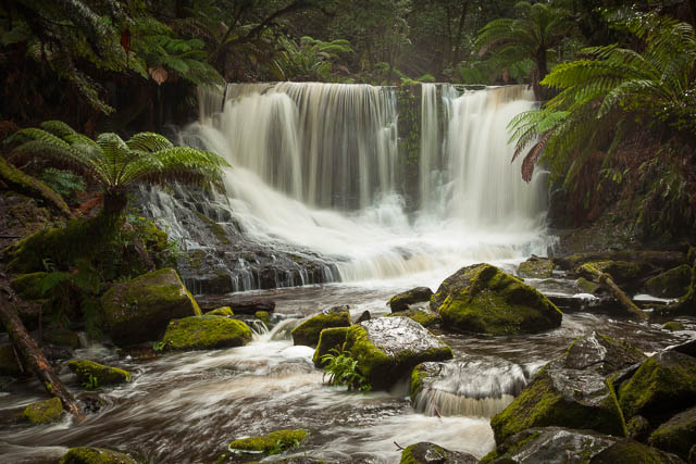 Horseshoe Falls, Mt Field National Park