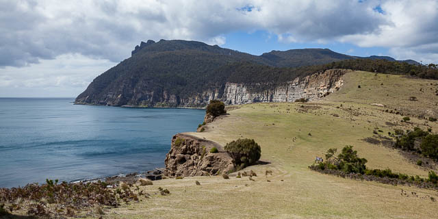 Coastal landscape of Maria Island Tasmania - on tour with Shutterbug Walkabouts
