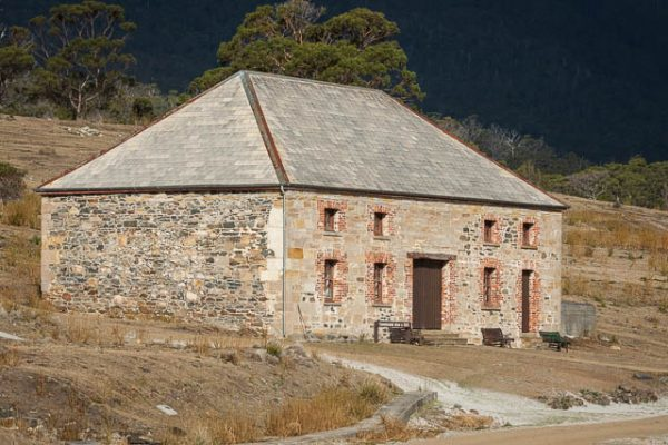 Commissariat store on Maria Island in Tasmania - on tour with Shutterbug Walkabouts