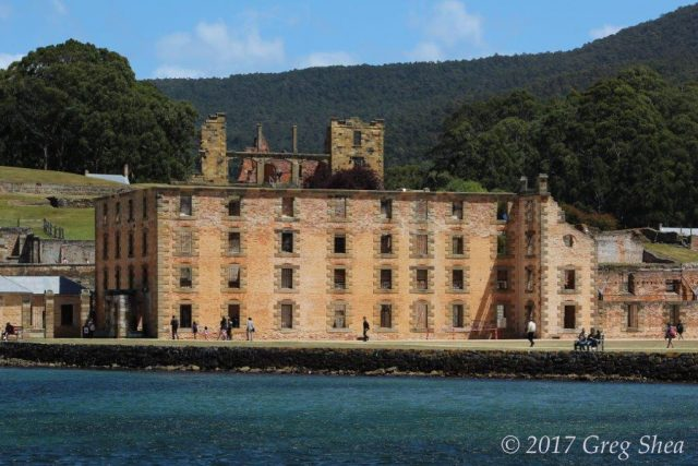 Port Arthur Penitentiary, Tasman Peninsula, Tasmania - photography tuition with Greg Shea