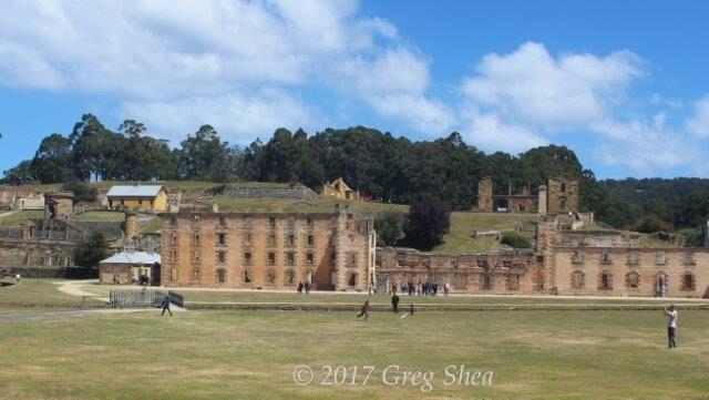 Port Arthur, Tasman Peninsula, Tasmania - photography tuition with Greg Shea