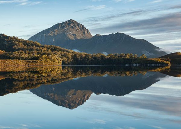 Mt Rugby, remote South West Wilderness, Port Davey, Tasmania