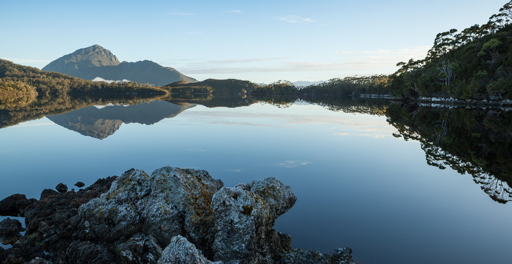 Early morning reflection - Mt Rugby, Southwest Tasmania