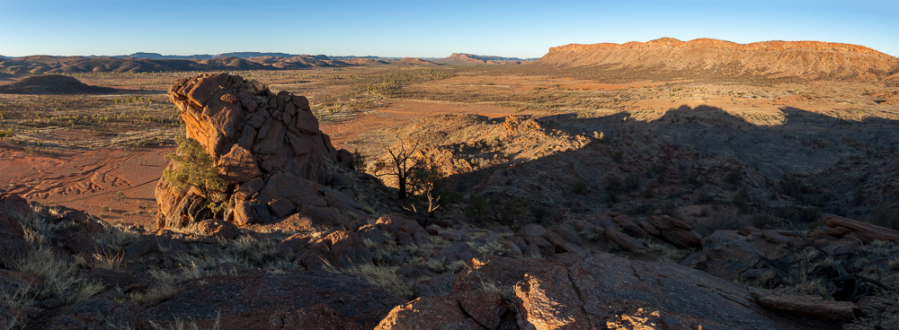Rocky outcrop - West MacDonnell ranges, Northern Territory, Australia