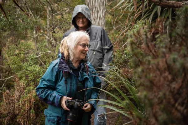 Bev and Charlie L from USA - multi-day tour comprising Maria Island, Bonorong and Mt Field